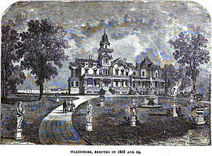 History of Bridgeport, Connecticut - Waldemere, Barnum's Residence after 1869