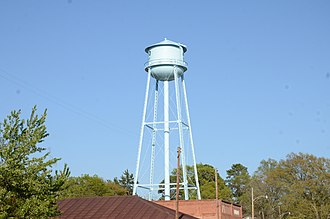 Waldo water tower (Waldo, Arkansas) - Image: Waldo Water Tower