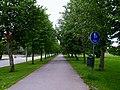 Walking and bicycle street in Kauhava Finland.jpg
