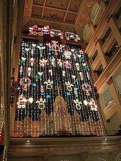 christmas light showedit