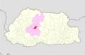 Wangdue Phodrang Gangtey Gewog Bhutan location map.png