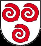 Das Wappen von Alsleben (Saale)