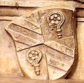 Wappen des Fürstbischofs Moritz von Hutten auf dem Hohenrechberg-Epotaph im Eichstätter Dom.jpg