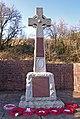 War Memorial, Dunlop - geograph.org.uk - 1737086.jpg