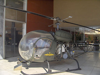 Bell H-13 Sioux - An H-13 at the War Museum in Athens, Greece.