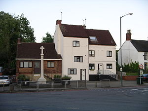 English: War memorial (1914-1918) in Walsgrave...