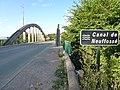 Wardrecques (Pas-de-Calais,, Fr) Canal de Neuffossé au Pont-d'Asquin (02).JPG