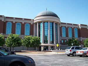 Bowling Green, Kentucky - The Warren County Justice Center is the center of the local court system.