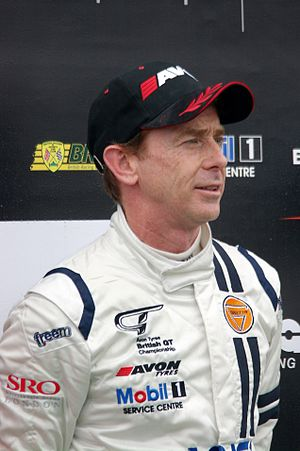 Warren Hughes - Hughes as a British GT driver in 2012.