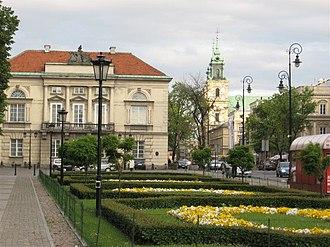 Tyszkiewicz Palace, Warsaw - Image: Warsaw 7ci