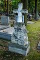 Warszawa - Reduta Wolska - cmentarz prawosławny - nagrobek z 1898 roku.jpg