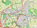 Warwick, Leamington & Whitnash map.png