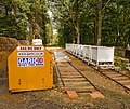 Warwickslade Cutting - train at railhead - geograph.org.uk - 1486215.jpg