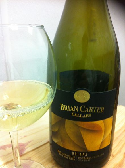 "A Viognier-based white ""Rhone-style blend"" from Washington State."
