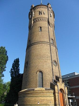 Zwenkau - Image: Wasserturm Zwenkau 03