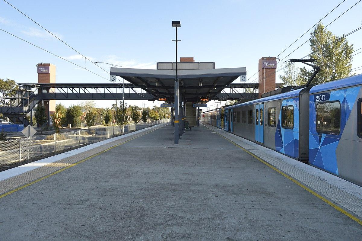 watergardens railway station wikipedia