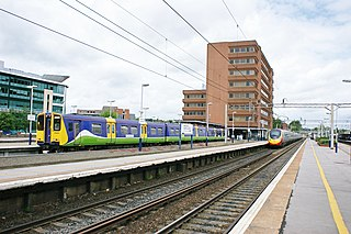 Watford Junction railway station railway station that serves Watford, Hertfordshire
