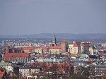 Wawel-WidokZKopcaKraka-POL, Kraków.jpg
