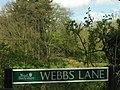 Webs Lane and Admoor Lane - geograph.org.uk - 2581.jpg