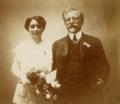 Wedding photo of Alphonse and Maruška Mucha.png