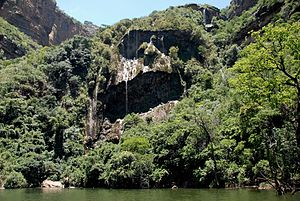 Blyde River Canyon - The weeping face of nature