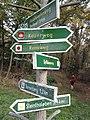 Wegweiser zwischen Kelbra und Kyffhaeuser (Kelbra 3,0 km).jpg