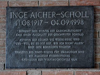 Inge Scholl German activist