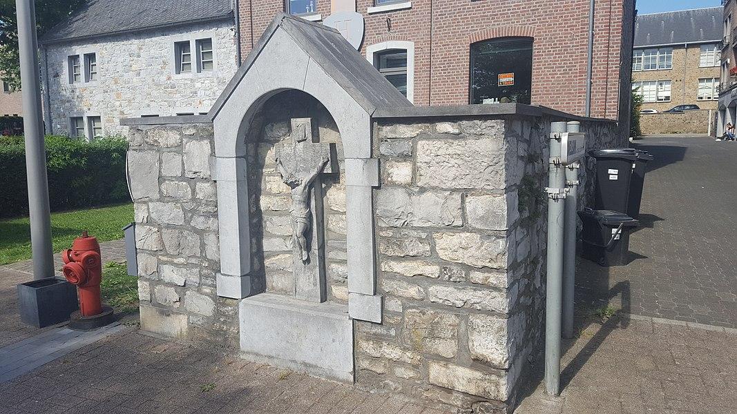 Maison, place des combattants n° 21, Welkenraedt, Belgique