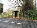 Well built bus shelter next to St Martin church - geograph.org.uk - 1766472.jpg