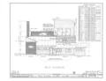 Wells Fargo and Company Building, Main and Washington Streets (Columbia State Historical Park), Columbia, Tuolumne County, HABS CAL,55-COLUM,3- (sheet 5 of 11).png