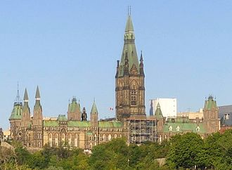 West Block - The West Block of Parliament Hill