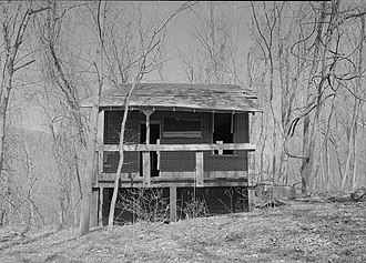 Jerome, West Virginia - Jerome operator's cabin on the Western Maryland Railway