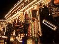 Weston-super-Mare carnival 2016 - Masqueraders CC Trash City detail.JPG