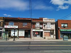 Weston Road south of Eglinton Ave. W.