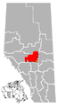 Wetaskiwin, Alberta Location.png