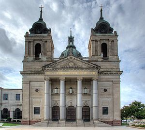 Roman Catholic Diocese of Wichita - Exterior of the Cathedral of the Immaculate Conception