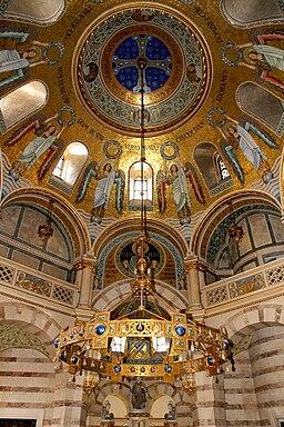 Wien - Mexikokirche, Elisabethkapelle, Deckenmosaik