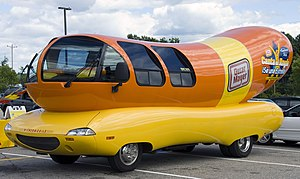 Oscar Mayer - Wienermobile in Gilford, New Hampshire