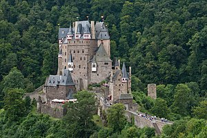 Eltz Castle - Eltz Castle, view from northeast