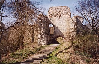 Wigmore, Herefordshire - Ruins of Wigmore Castle