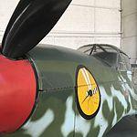 Wiki Loves Art --- Musée Royal de l'Armée et de l'Histoire Militaire, Hall de l'air, Nord 1002 Pingouin (détail 2).jpg