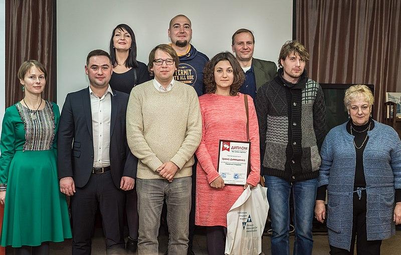Організатори та переможці спецномінації «Єврейська спадщина»