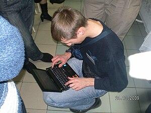 English: laptop computer