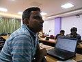 WikidataWK17 - Rajeeb Datta 01.jpg