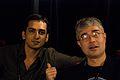 Wikimania 2009 - Anirudh Singh Bhati & Kul Wadhwa.jpg