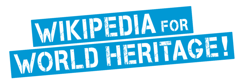 File:Wikipedia for World Heritage logo en.png