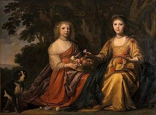 Maria Magdalena en Carlotta Elisabetha van Nassau-Siegen