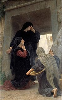 William-Adolphe Bouguereau (1825-1905) - Le saintes femmes au tombeau (1890) img 2.jpg