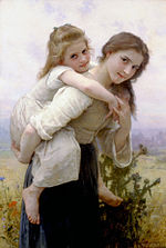 William-Adolphe Bouguereau (1825-1905) - Not Too Much To Carry (1895).jpg