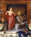 William Blake Richmond - Hera in the House of Hephaistos, 1902.jpg